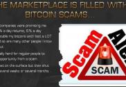 Bitcoin SCAM alert bitcoins