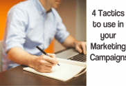 marketing campaigns 4 tactics